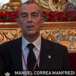 Manuel Correa Manfredi, exaltador de la Santa Cruz de Arriba 2018