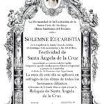 Festividad de Santa Ángela de la Cruz y Misa de Difuntos