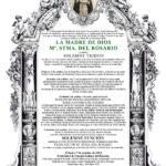 Triduo a la Virgen del Rosario 2019