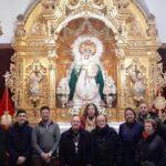 Visita del Obispo Auxiliar de la Archidiócesis de Sevilla a nuestra Capilla